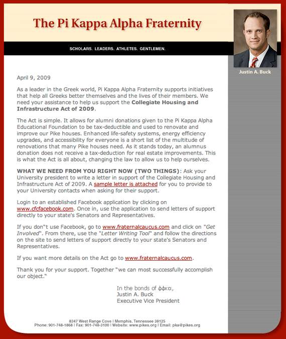 sample recommendation letter for fraternity membership - Monza